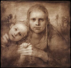 Odd Nerdrum, Mother and daughter